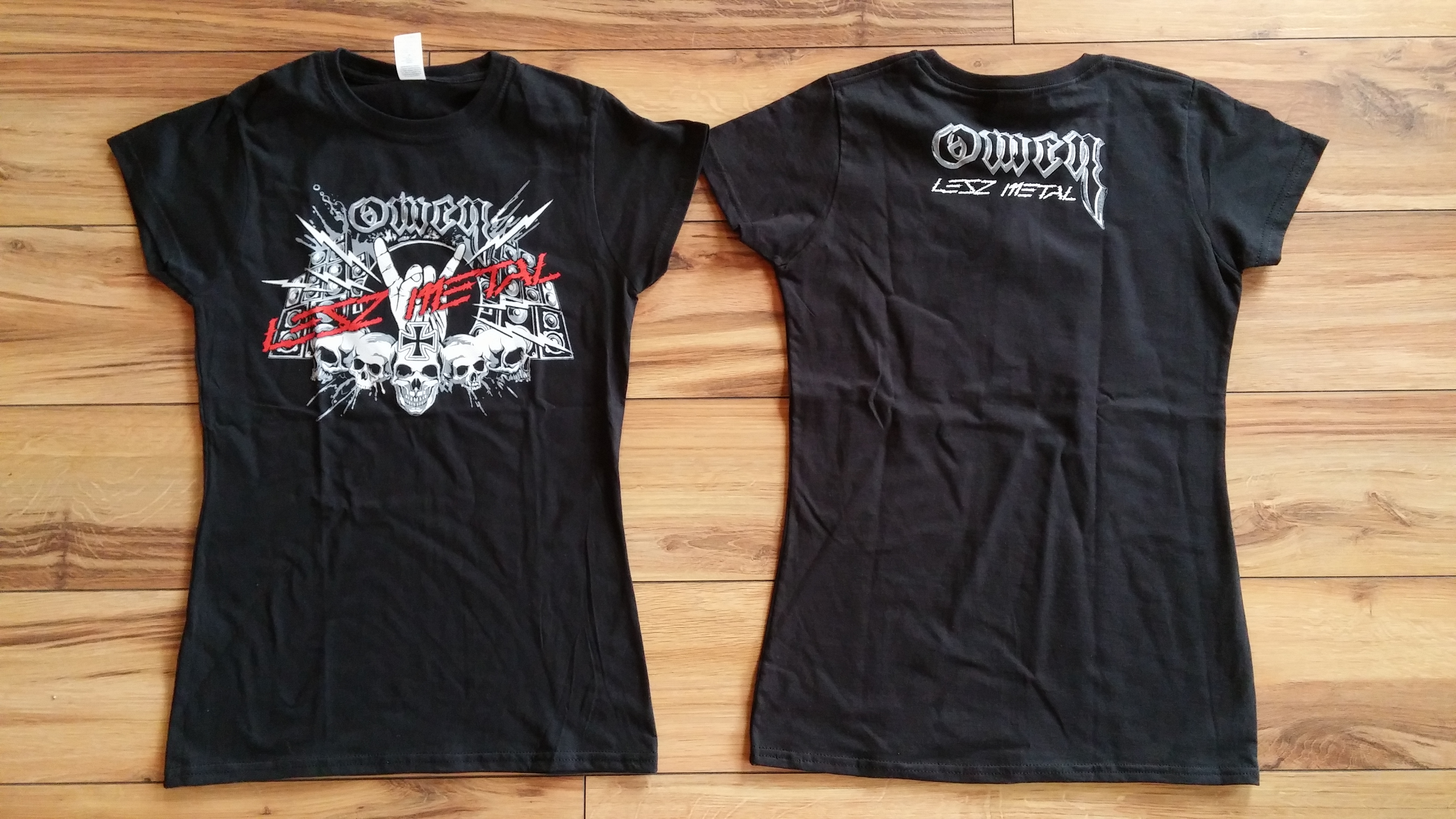 Lesz Metal női póló (Omen webshop)